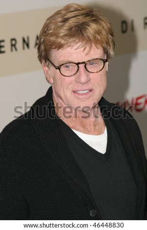 ROME - OCTOBER 23: Robert Redford attends a photocall for 'Lions For Lambs' during day 6 of the 2nd Rome Film Festival on October 23, 2007 in Rome, Italy.