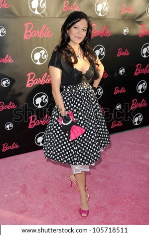 Romi Dames  at Barbie\'s 50th Birthday Party. Barbie\'s Real-Life Malibu Dream House, Malibu, CA. 03-09-09
