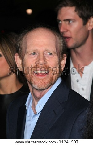"Ron Howard at the AFI Fest 2011 Opening Night Gala Premiere of ""J. Edgar,"" Chinese Theater, Hollywood, CA 11-03-11"