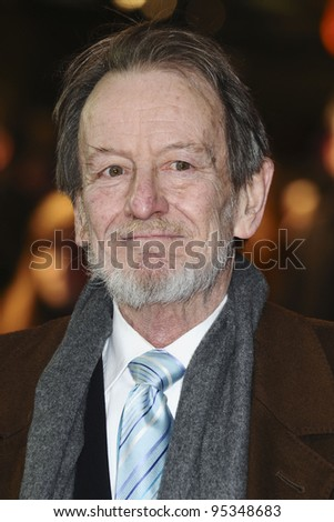 """Ronald Pickup arrives for th arriving for the premiere of """"The Best Exotic Marigold Hotel"""" at the Curzon Mayfair cinema, London. 07/02/2012 Picture by: Steve Vas / Featureflash"""