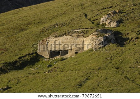 Roncia Fortress - Fire centre n°23 - WW2 - Mont-Cenis, France