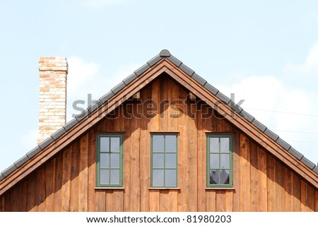 Roof. - stock photo