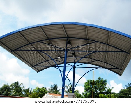 Roof Dome construction, Aluminum metal sheet shelter #771955393