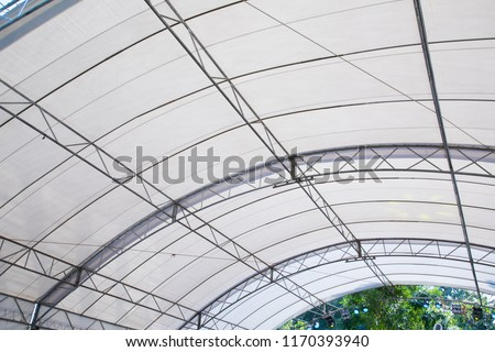 Roof Dome construction, canvas and metal sheet for event #1170393940