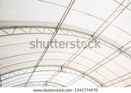 Roof Dome construction, canvas and metal sheet for event #1345774970