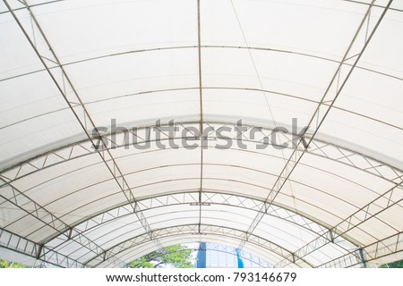 Roof Dome construction, canvas and metal sheet for event #793146679
