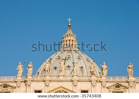 Roof of St Pietro