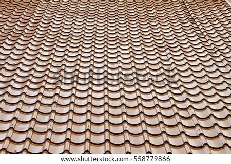 Roof tile #558779866