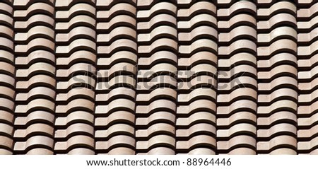 Roof Tiles - pattern / background