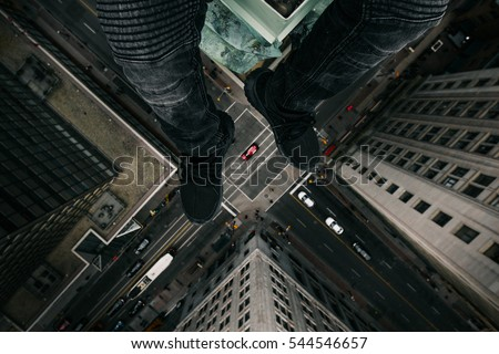 Roof top intersection.