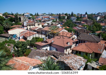 roofs of the old town
