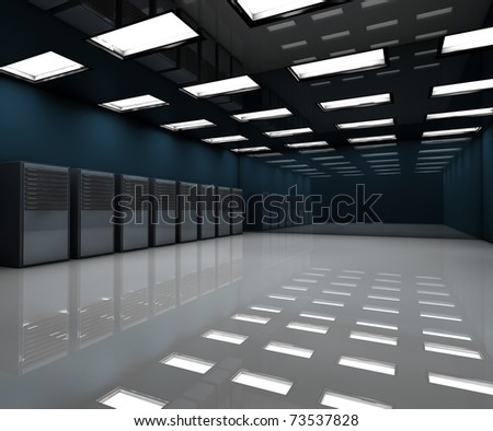 Room with servers