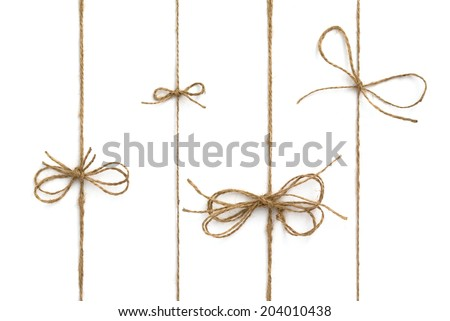 Rope bow  Stock photo ©