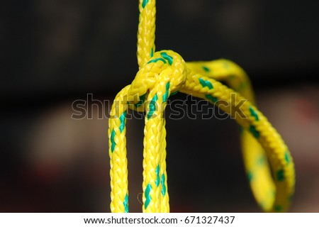 Rope knot #671327437