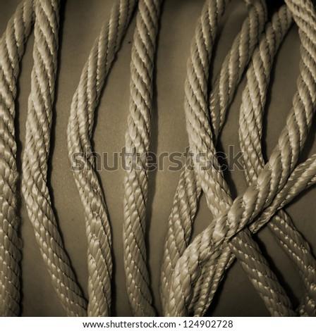 Rope on Skin