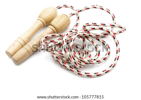 Rope skipping - stock photo