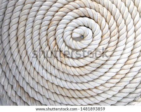 Rope Texture Background Included Free Copy Space For Product Or Advertise Wording Design #1481893859