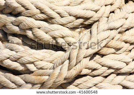 Rope texture or background.