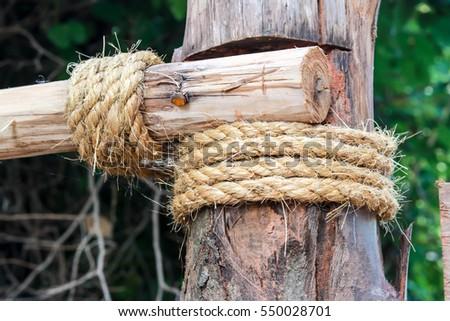 rope, tie a rope #550028701