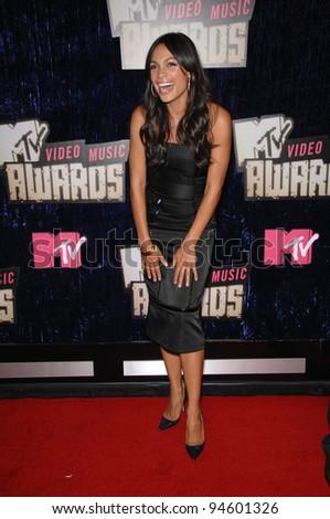 Rosario Dawson At The 2007 MTV Video Music Awards At The Palms