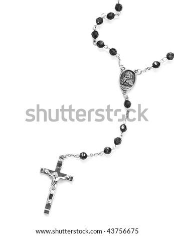 rosary - stock photo