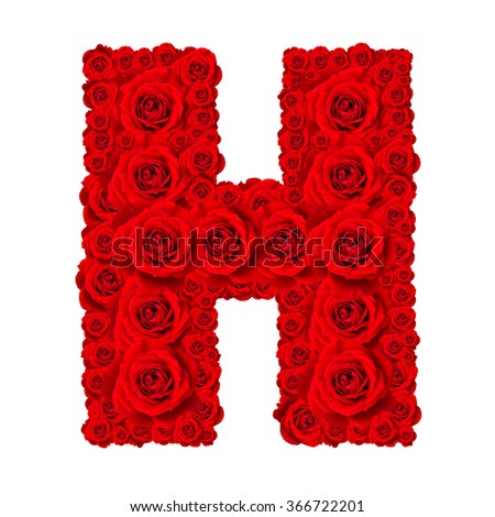how to make flower letters