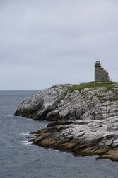 Rose Blanche Lighthouse in Newfoundland Canada