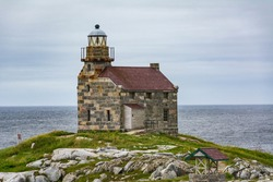Rose Blanche Lighthouse in Newfoundland, Canada