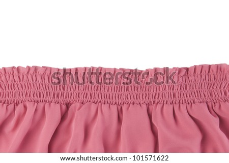 Elastic Fabric Texture Rose Fabric Texture on Elastic