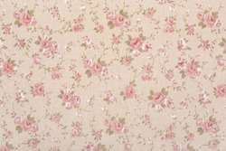 Rose floral tapestry pattern, romantic pink texture background