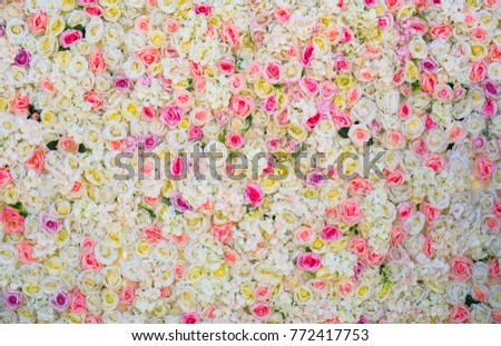 rose flower background for wedding congratulation and valentine's day card design