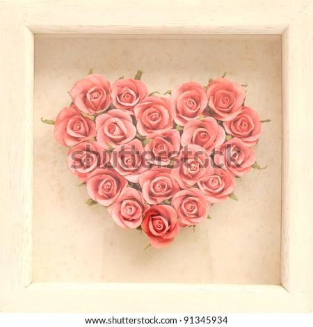Rose frame.