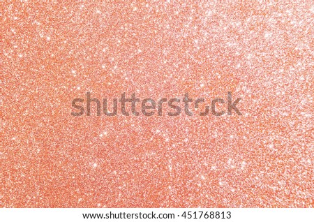 Rose gold glitter, Defocused abstract holidays lights on background. #451768813