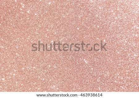 Rose gold glitter, Defocused abstract holidays lights on background.