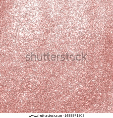 Rose gold glitter texture pink red sparkling shiny wrapping paper background for Christmas holiday seasonal wallpaper decoration, greeting and wedding invitation card design element Photo stock ©