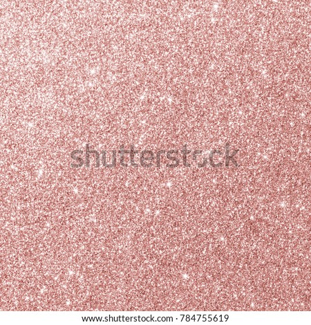Rose gold glitter texture pink sparkling shiny wrapping paper background for Christmas holiday seasonal wallpaper  decoration, greeting and wedding invitation card design element