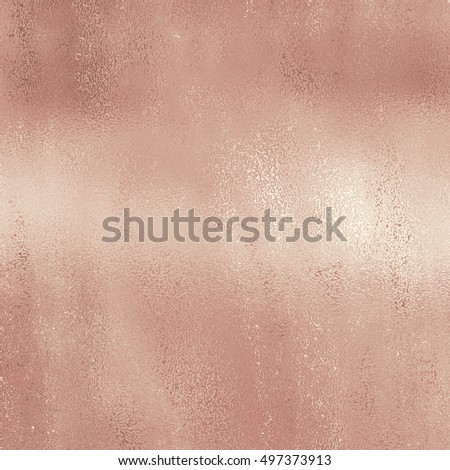 Rose light gold copper bronze brass foil decorative texture background #497373913