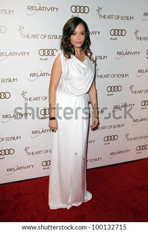Rose McGowan at The Art Of Elysium 5th Annual Heaven Gala, Union Station, Los Angeles, CA 01-14-12