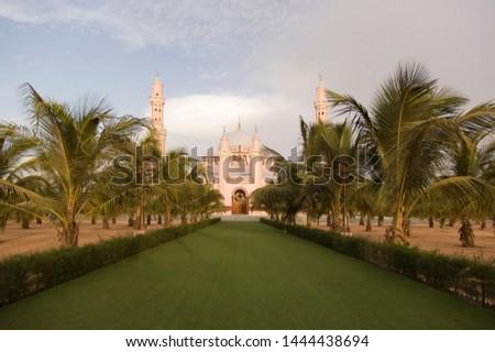 Rose mosque at Dakar, Senegal #1444438694