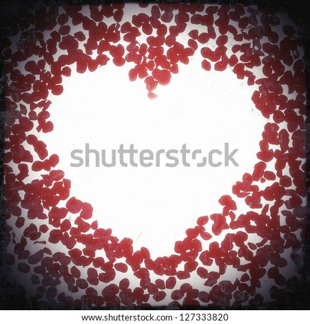 rose petals background with place for text