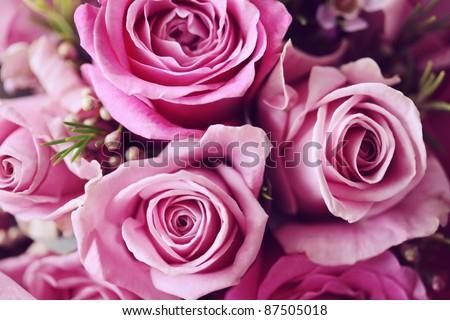 Rose Posy Wedding Bouquet