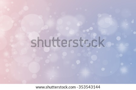 Rose quartz and serenity gradient with bokeh abstract background