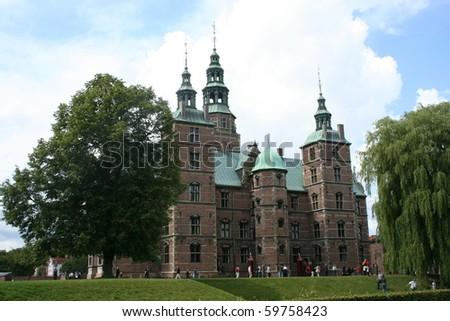 Rosenborg Castle Copenhagen Denmark - stock photo