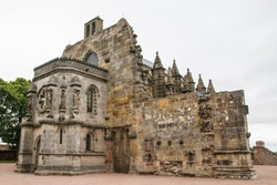 Roslyn Chapel in Scotland