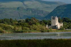 Ross Castle on The Lakes of Killarney in the ring of Kerry, Ireland