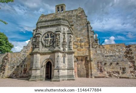 Photo of  Rosslyn Chapel Entrance