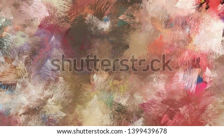 rosy brown, pastel brown and baby pink color brushed strokes background. artistic texture can be used for wallpaper, cards, poster or creative fasion design elements.