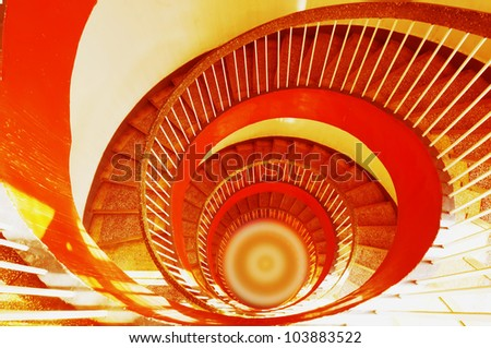 Rotate stair