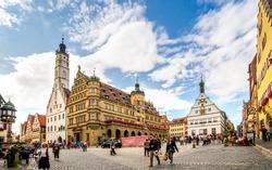 Rothenburg ob der Tauber, Market Place