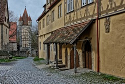 Rothenburg ob der Tauber.Rothenburg.